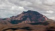 Sincholagua Volcano 4899m in the Ecuadorian Andes time-lapse.