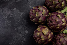 Edible Plant, Purple Artichoke...