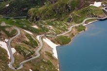 Lago Agnal Fotografato Dal Nivolet, Piemonte