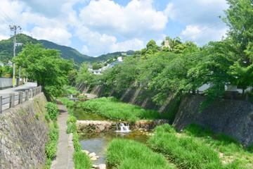 Fototapeta na wymiar 芦屋川