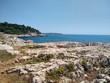 Felsenküste bei Pula, Kroatien