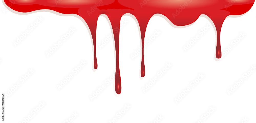 Fototapety, obrazy: Blood dripping