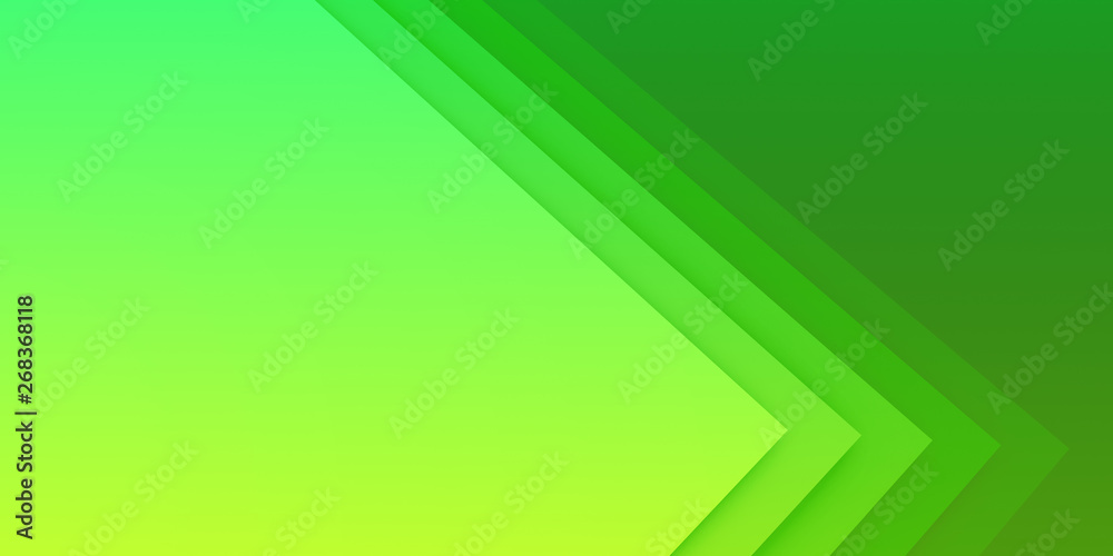 Fototapeta Exciting Green Presentation Background