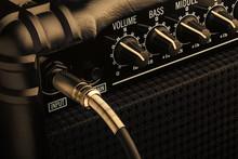 Guitar Amplifier With Jack Plu...