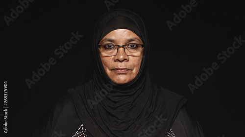 Fotografiet  Islamic woman in hijab