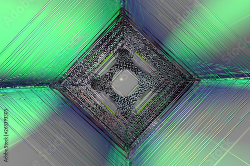 Photographie  3d Abstract Design
