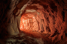 Tunnel Bridge In Zion Park, Ut...