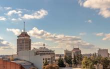 Downtown Fresno Skyline, Calif...