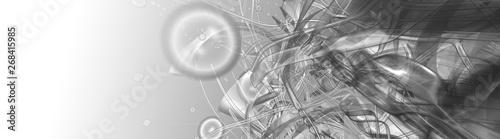Obraz na plátně  abstract composition