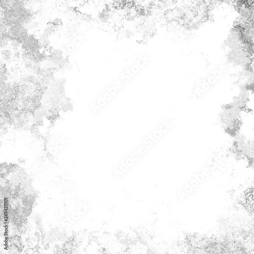 Obraz .Black and white ink spotted texture. - fototapety do salonu