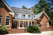 Large Brick Classic Traditional Home House on Wooded Lot