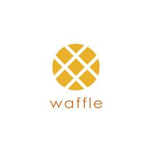 Abstract Waffle Logo Icon