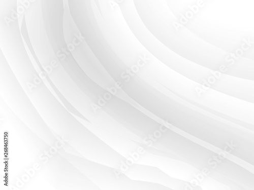 Fototapety, obrazy: Abstract grey and white graphic illustration background. Modern design.