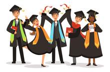 Graduation Of Happy Internatio...