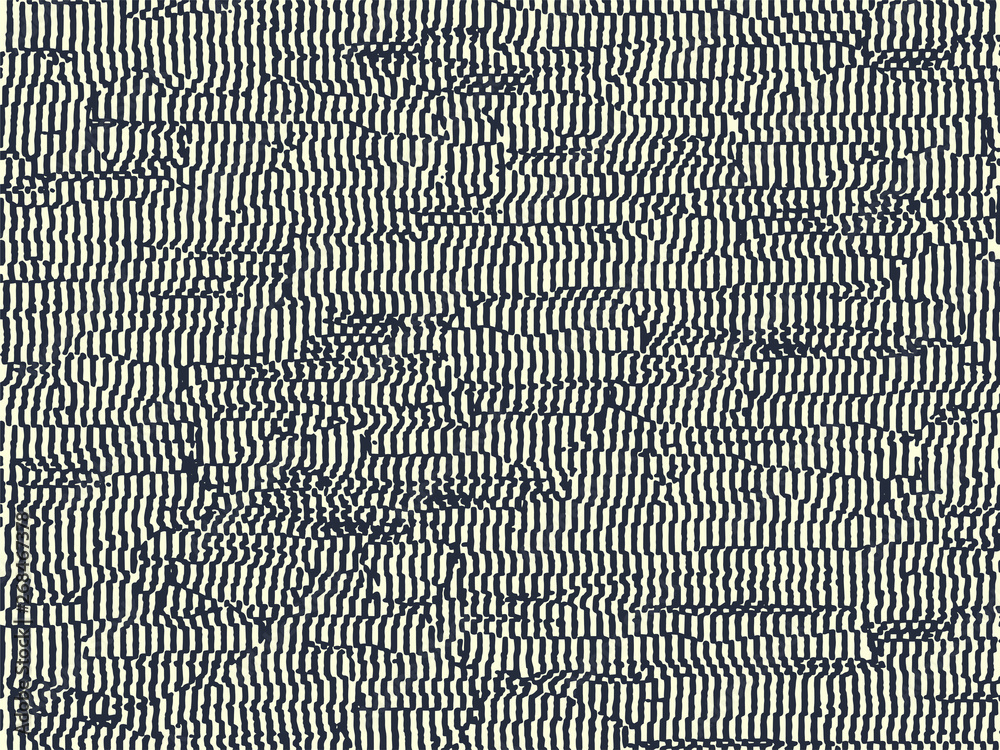 Fototapeta Abstract grunge vector background. Monochrome composition of irregular graphic elements.