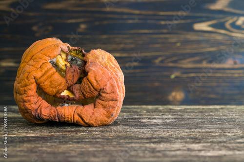 Rotted pumpkins Fototapet
