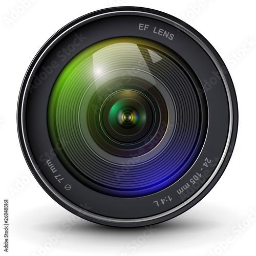 Fotografía  Camera lens 3D icon
