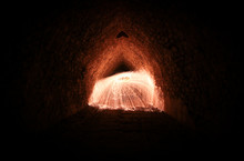 Steel Wool In Motion. Light Pa...