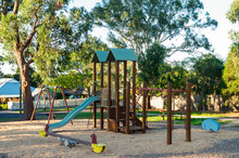 Playground In Mitcham In The Eastern Suburbs Of Melbourne, Australia