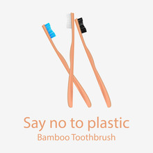 Collection Of Bamboo Toothbrus...
