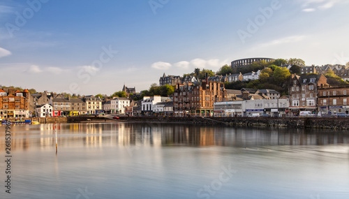Photo Scenic View over Oban in Scotland