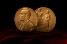 Alfred Nobel Prize. Two Medals...