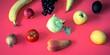 Leinwandbild Motiv Frucht und Gemüse