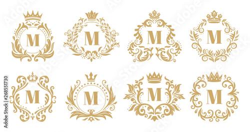 Photo Luxury monogram