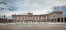 Madrid Royal Palace Panorama