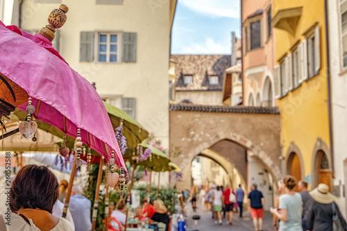 Fotografie, Obraz  Bolzano, Via Dr. Josef Streiter, Trentino-Alto Adige, Italy