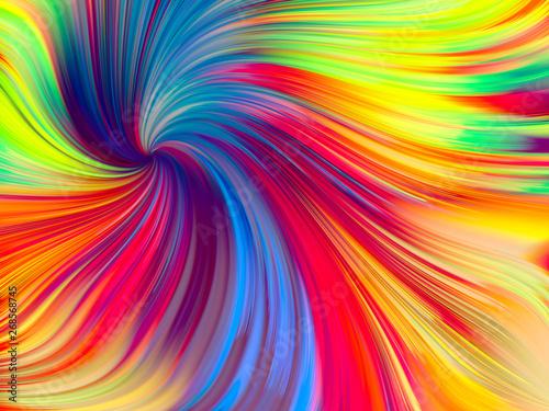 Petals of Vivid Palette - 268568745
