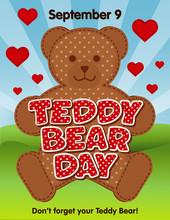 Teddy Bear Day, National Holid...