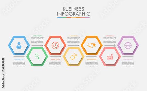 Fotografija Business data visualization