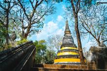 Wat Umong, Chaing Mai, Thailand