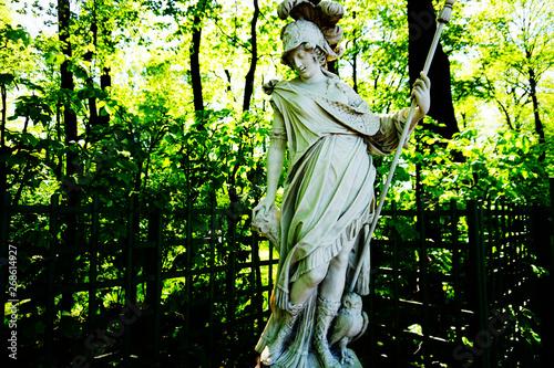 Fotografía Minerva in Summer Garden, St. Petersburg
