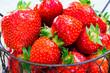 Leinwandbild Motiv fraises