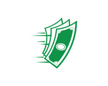 Modern Fast Cash Logo Illustra...