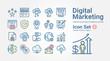 Digital Marketing icon set 2