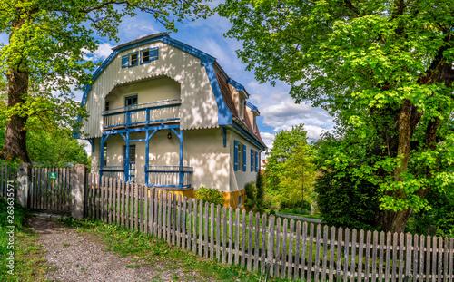 Vászonkép Muenter House in Murnau, Bavaria, Germany