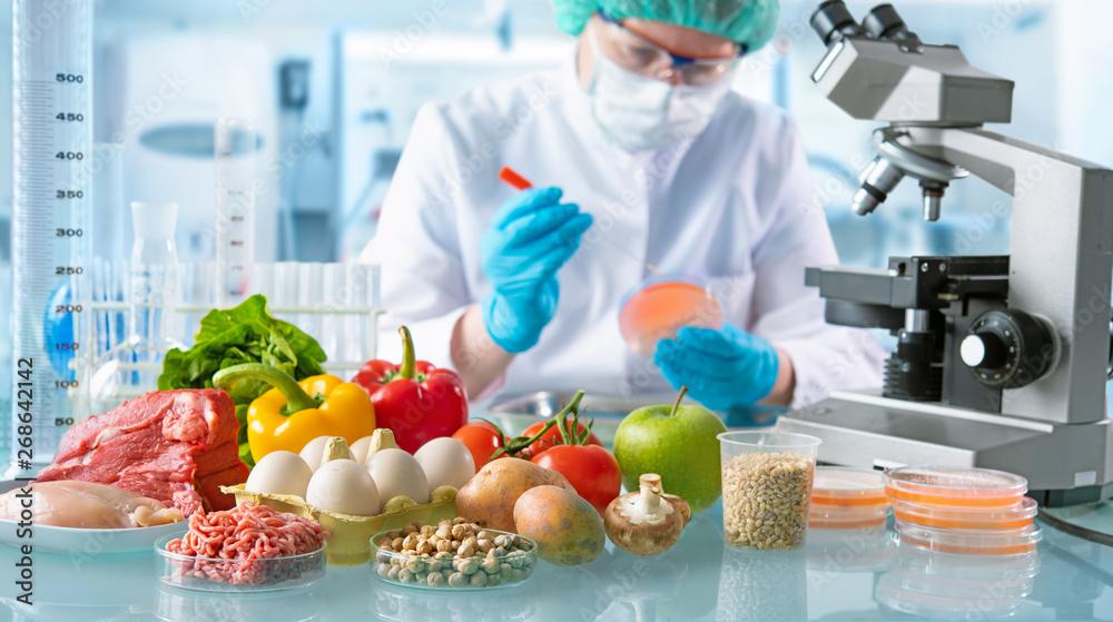 Fototapeta Food quality control concept