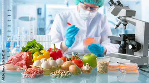 Fotomural Food quality control concept