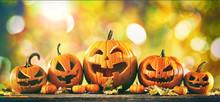 Halloween Pumpkin Jack O Lante...