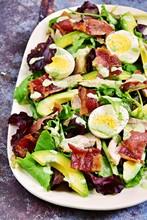 Keto Chicken And Bacon Salad. ...
