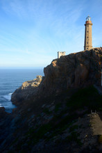 Lighthouse Of Cabo Vilan, Galicia, Spain