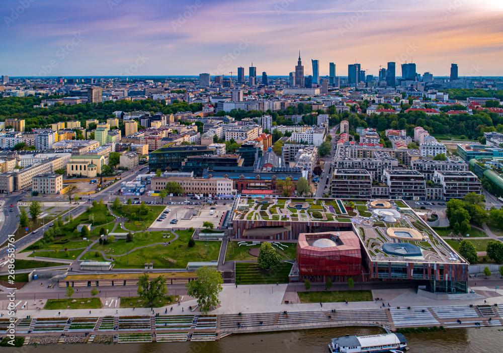 Fototapety, obrazy: Centrum Nauki Kopernik w Warszawie