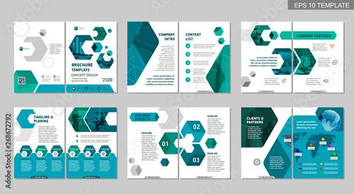 Fotografering  Brochure creative design