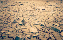 Mohave Desert Dry Cracked Dese...