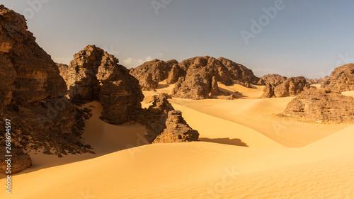 Tassili N'Ajjer in Sahara desert, Algeria Wallpaper Mural