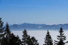 Clouds Inversion In The Town D...