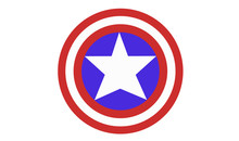 Captain America Shield Vector ...